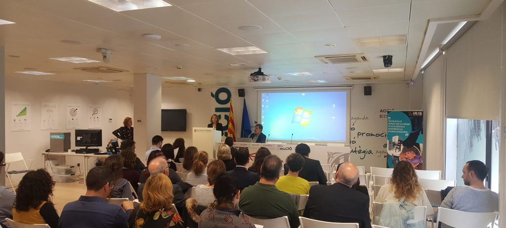 'Technological Update for the Food Sector' workshop at Acció & Food N' Nutrition Cluster