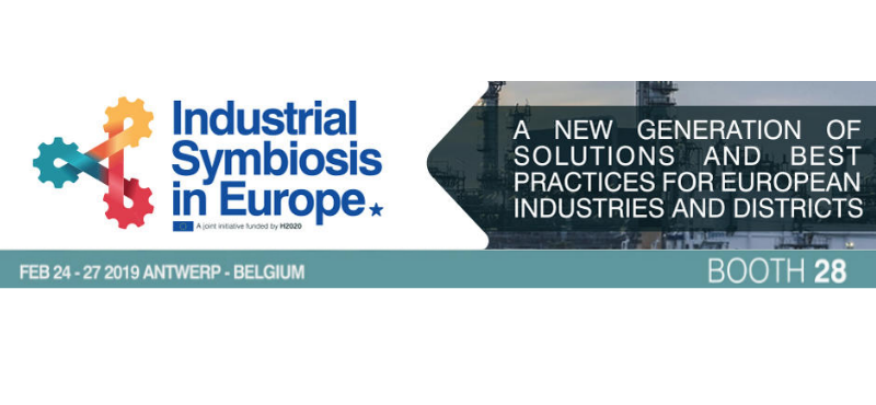 Sharebox at Booth28 in the 'Industrial Symbiosis in Europe' side-event