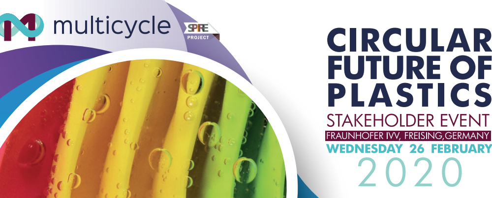 Multicycle 'Circular Future of Plastics' stakeholders' event in Fraunhofer IVV on 26th February