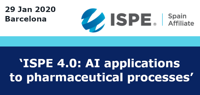 IRIS at 'ISPE 4.0: AI applications to pharmaceutical processes'